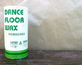 Dance Floor Wax Vintage Container- Candy & Company - Empty - Downstate