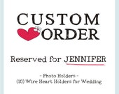 Custom Order - Set of 10 Blue and Silver Wedding Favors - Hostess Gifts