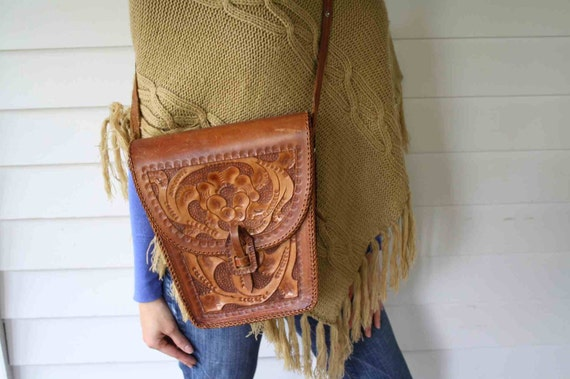 Stunning Tooled Leather Bag (SALE)