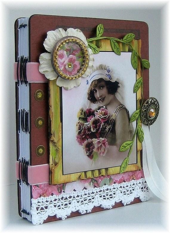 Wedding Photo Album, Scrapbook, Smash Book, Beautiful Bride