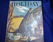 Sale 1948 Holiday Magazine September Vintage Ads