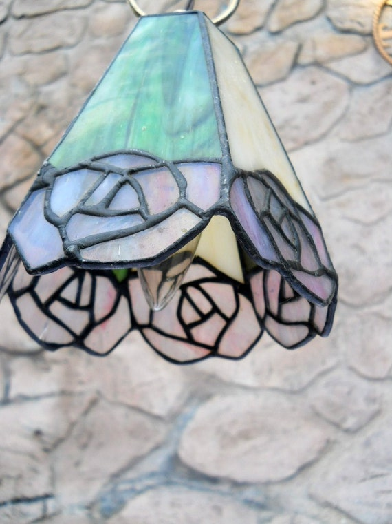 Lamp Light lead glass hanging small light pendant