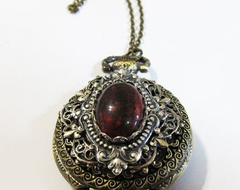 Under a Spell of Yoona's--- Pocket watch necklace.Christmas gift