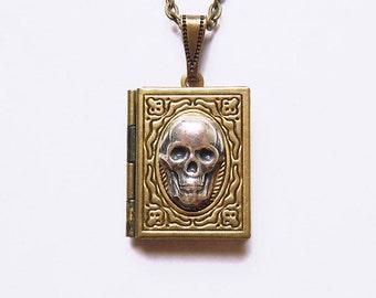 Death Note -- skull Locket.Christmas gift