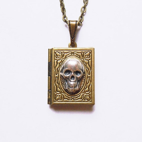Death Note -- skull Locket.Christmas gift