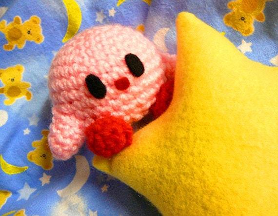 Mini Kirby Amigurumi Plush