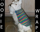 WOOFIE WRAP - No.013 - Cozy Attire 4 Your Pooch - Dog Sweater - Warm - Stylish - Easy Care - Petite Medium