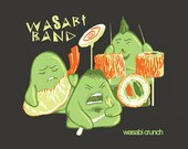 Wasabi Band Graphic Tee