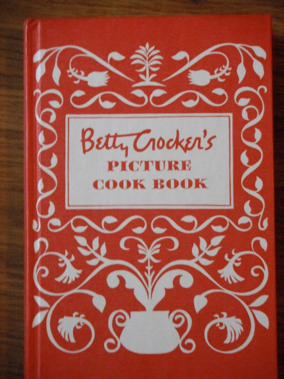 Vintage 'Betty Crocker Picture Cook Book'