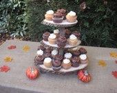 Cupcake Stand Rustic Wedding Decor