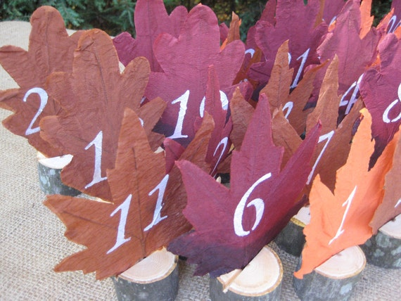 Reserved listing for Brittany Wedding Table Numbers Rustic Set of 23