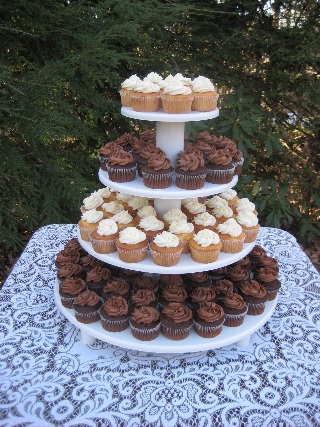 wedding cake and cupcakes stand cupcake stand wedding cupcake stand cupcake stand 21734