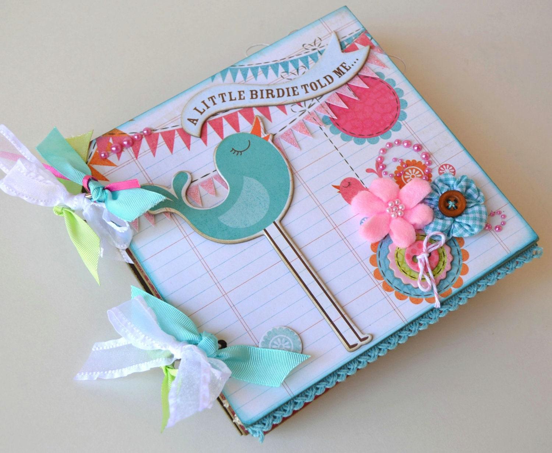 How to scrapbook a mini album - Item Details Reviews 35 Shipping Policies Girl Mini Album Chipboard Scrapbook