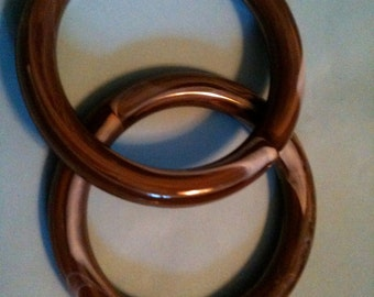 1 Dz hard plastic 3 inch rings for arts and crafts