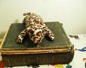 Upcycled Leopard Catnip Toy