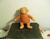 Upcycled Monkey Catnip Toy