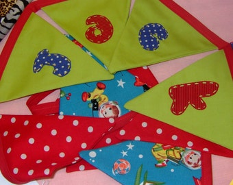 Personalised or Named Bunting