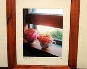 Teacups & Roses - Framed Print