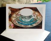 Tea Cup Painting Card Set