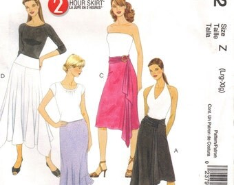 Summer is Here-2005 UNCUT  McCalls Plus Size Skirt Pattern