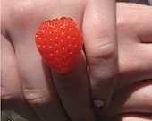 Strawberry Ring- Adjustable