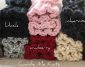 Knit Boot Socks ON SALE, Chunky Ribbed Boot Cuffs, One Pair, Choose Your Color