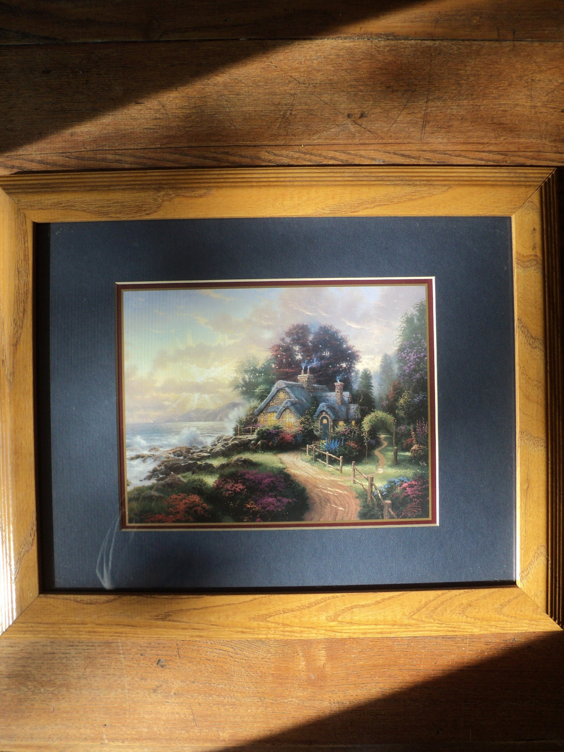 Vintage Thomas Kinkade Print Of A New Day Dawning With