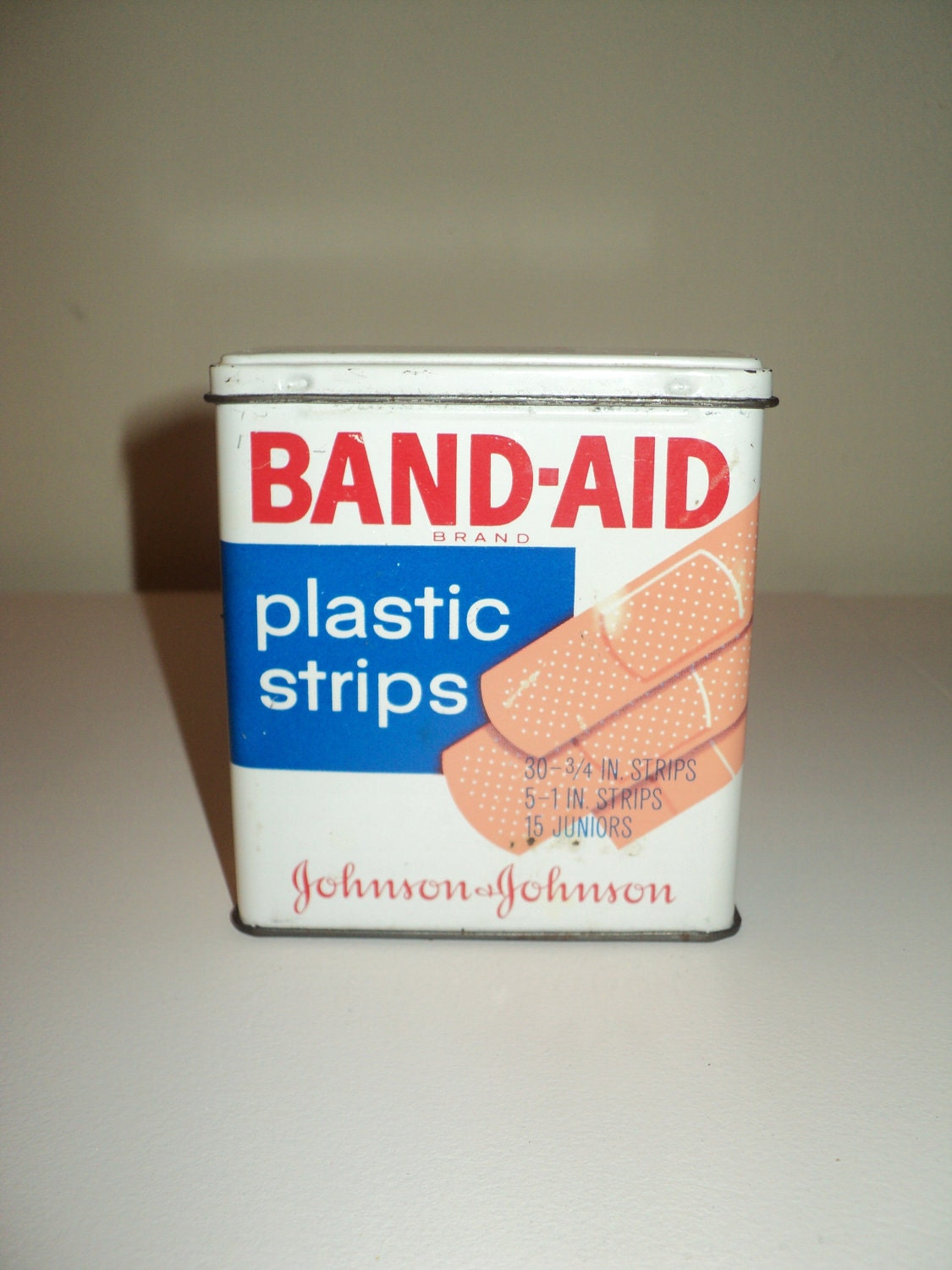 Vintage Band Aid Tin By Rrgs On Etsy
