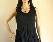light and comfortable sumer Top :  cotton black