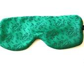 Upcycled silk sleep eye mask from Kai Long  silk necktie
