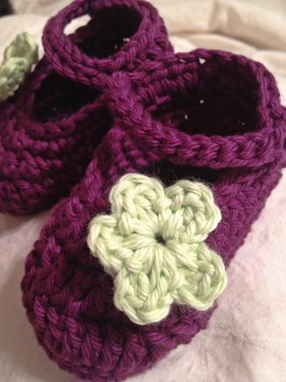 Crochet Mary Janes