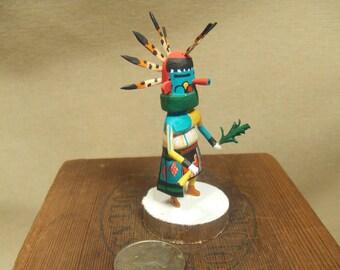 Native American Indian kachina - Morning kachina - miniature - signed by artist