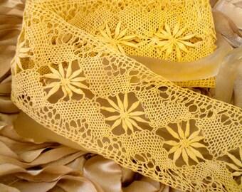 Victorian Ecru Colored Lace