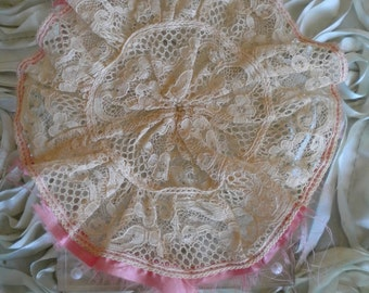 Victorian Lace Threaded Trim