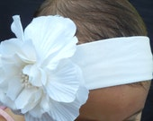 Girl Headband with Detachable Flower