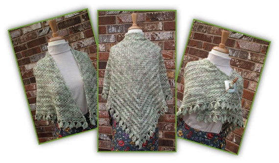 Lattice and Ivy Shawl Crochet Pattern
