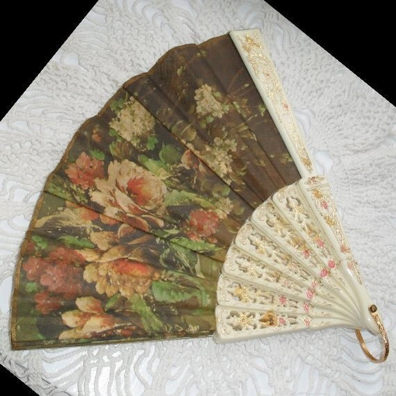 Fan Clothing Accessory Hand Fan Home Decor Vintage