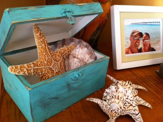 Coastal Colors SeaBoards Wood Box