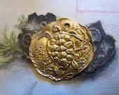Bronze Sea Turtle Coin
