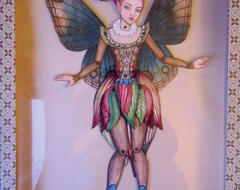 Jointed Fairy Paper Doll Kit