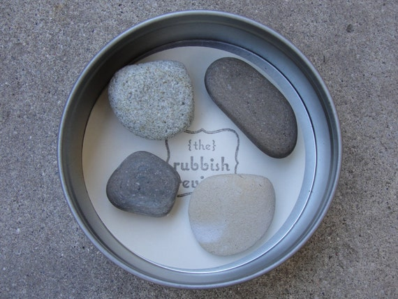 Sea Stone Magnets in Gift Tin