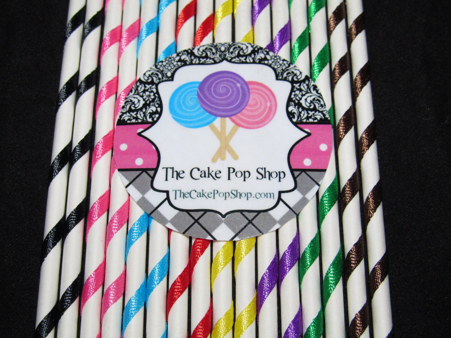 cake pop sticks lollipop sticks cake pop sticks 6 inches colors you choose 2297