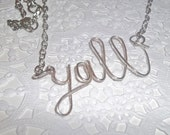 A Little Bit of Southern Charm Necklace, Y'all