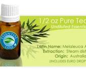 Tea Tree Essential Oil - 1/2oz - (15ml) -BUY 3 GET 1 FREE-
