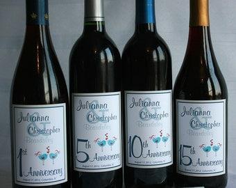 Wine Bottle Wedding Guest Book Labels, Custom labels, wine labels, summer wedding Wine label guest book, Guestbook Wine Labels