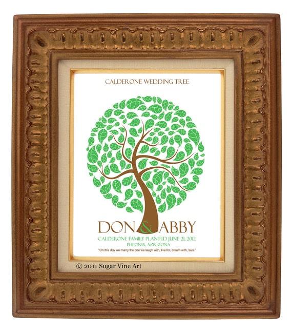 FINGERPRINT wedding GUEST TREE, Signature Wedding Tree, guest book tree wedding, Thumbprint Tree, Tree guest book, 20x30 num.109