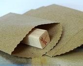 100 mini paper bag 2 1/4 x 4 (4 packs of 25)