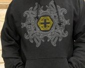 SMALL Plus Five Labyrinth Hoodie