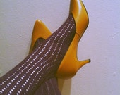 Mustard Yellow Treo III Pumps