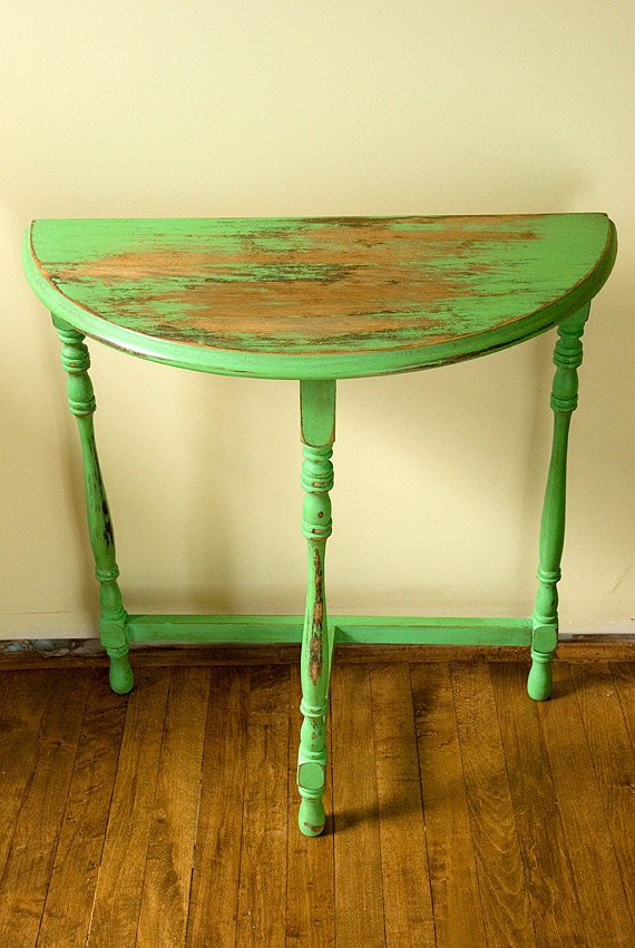Superior Antique Half Moon Table By OliveAvenue On Etsy